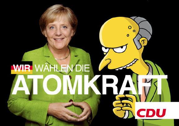 CDU: Wir wählen die Atomkraft