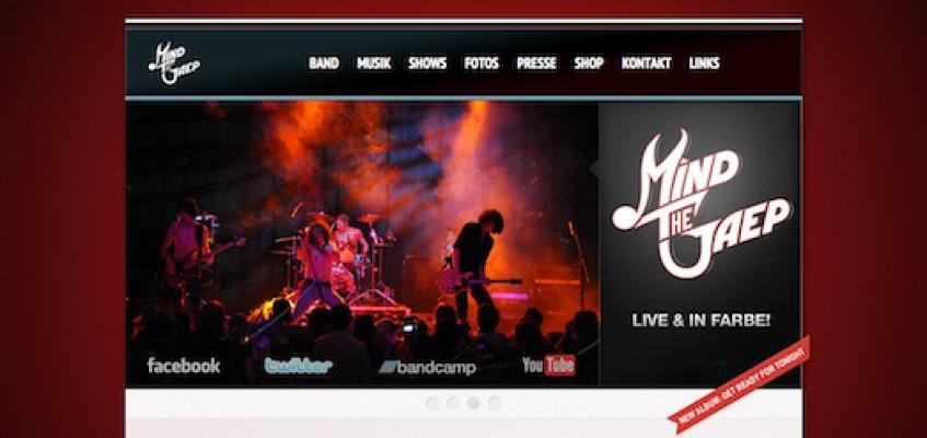 Neue Homepage: Mind The Gaep