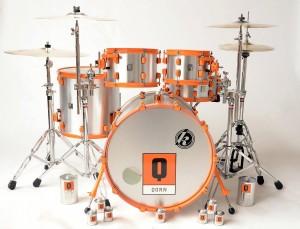 Qorn branded Schlagzeug von Kirchhoff Schlagwerk (Foto: Kirchhoff Schlagwerk)