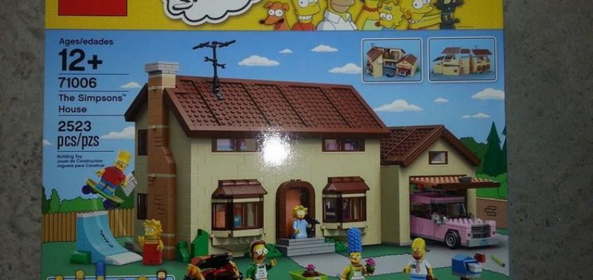 Die Simpsons von Lego
