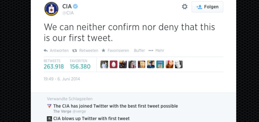 CIA bei Twitter