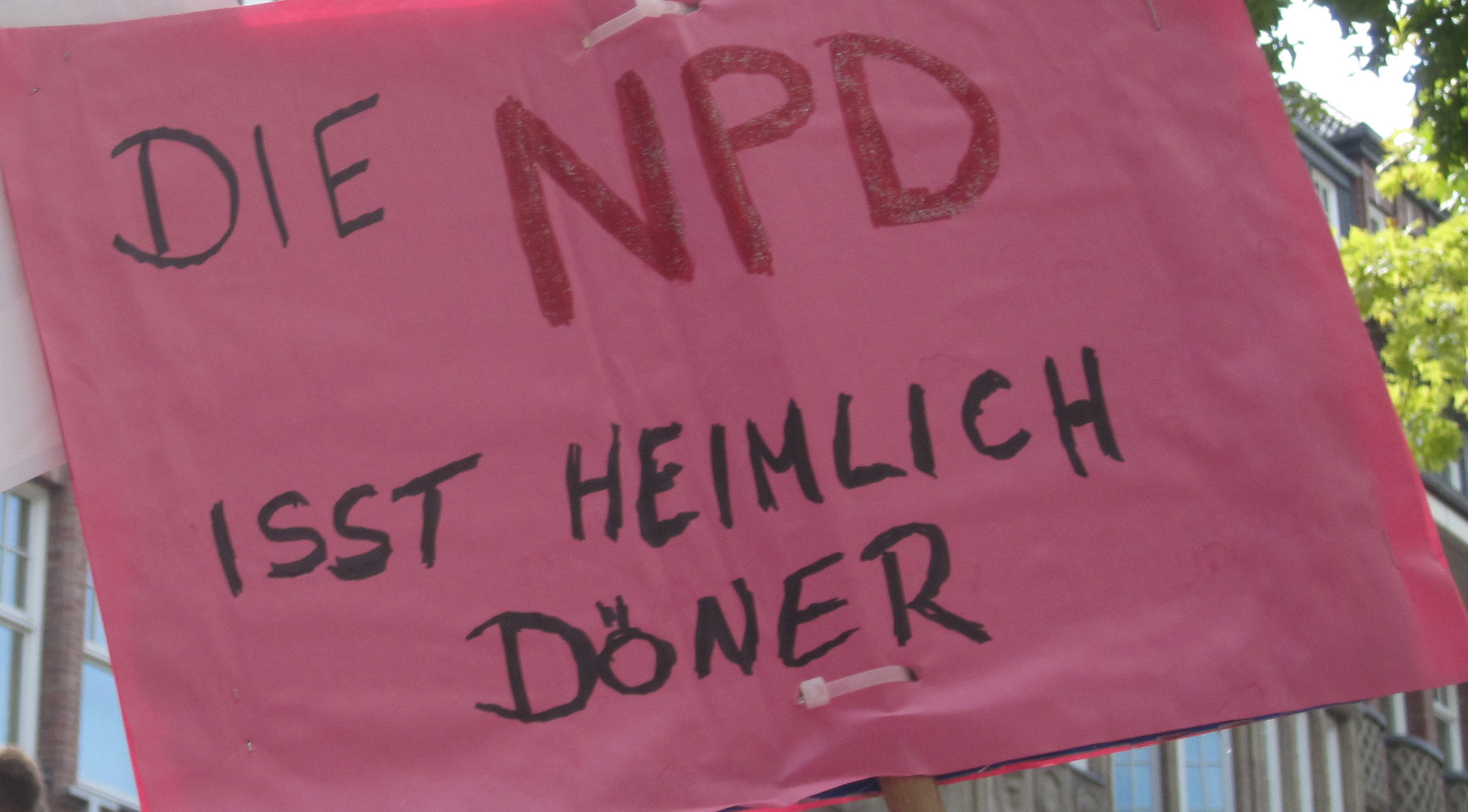Die NPD ist pleite – ooohhhh…
