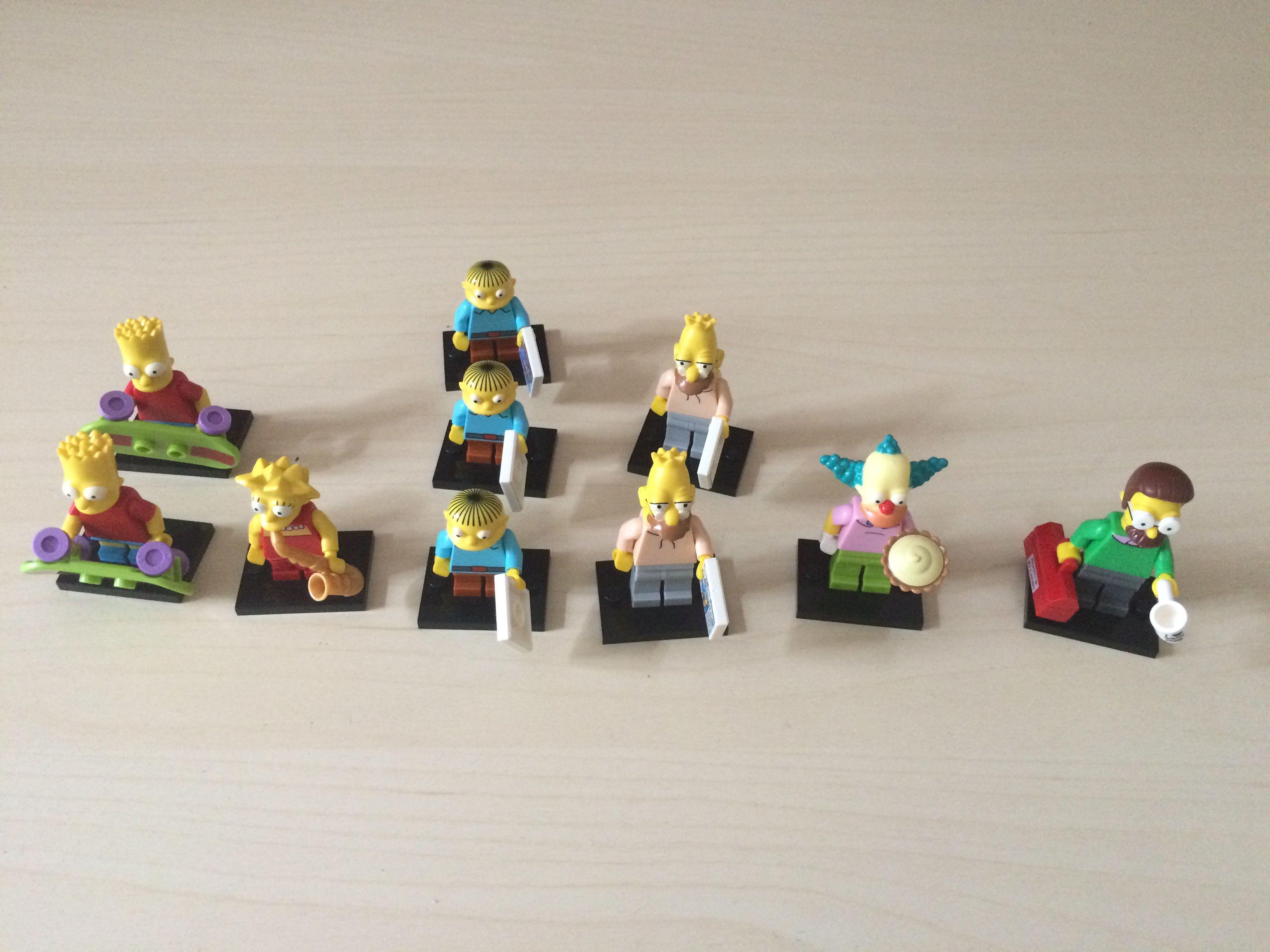 Doppelte LEGO-Simpsons