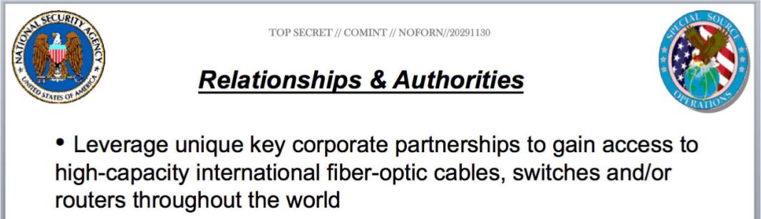 Die NSA holt sich die Daten doch sowieso…