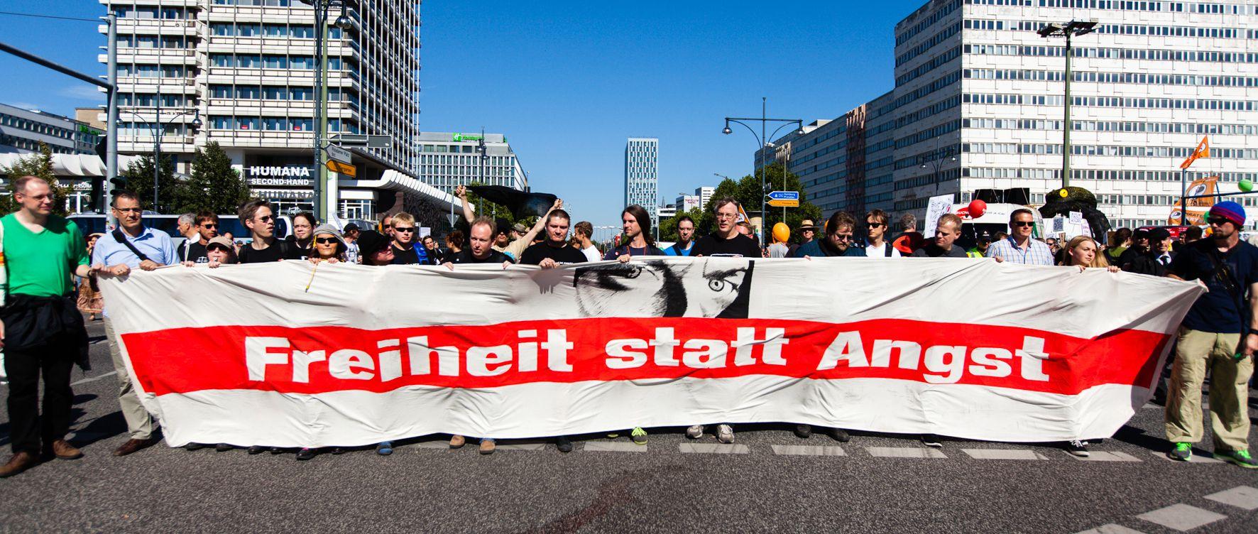 Freiheit statt Angst 2014 in Berlin