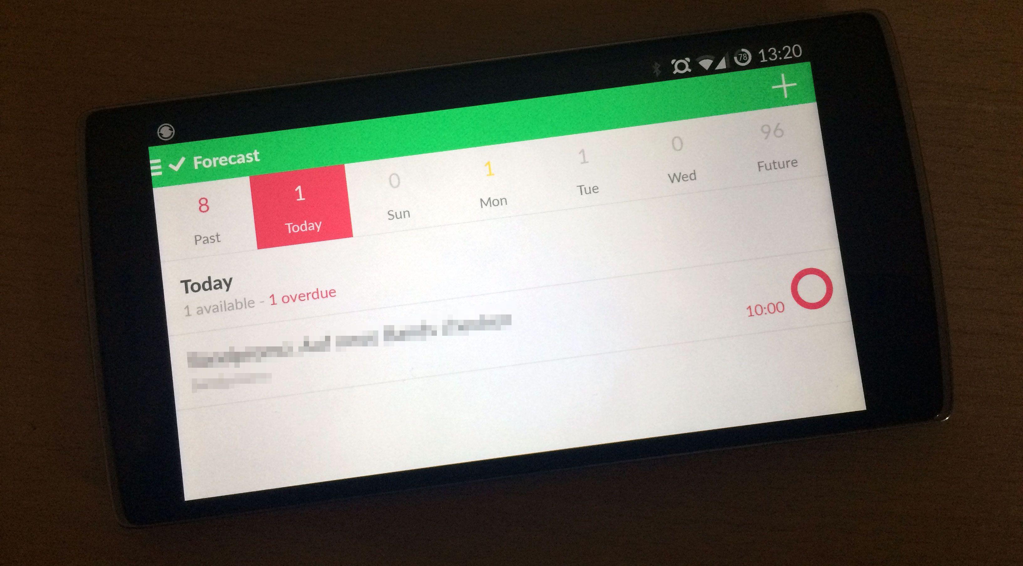 OmniFocus für Android