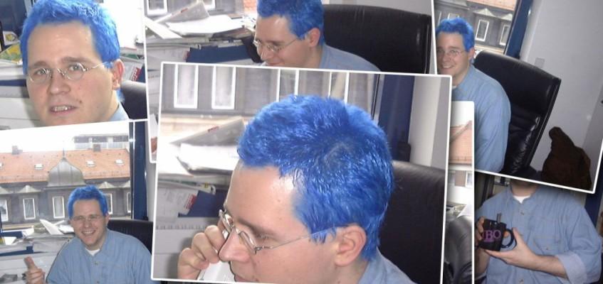 #TBT: 1998, blaue Haare und Astat Online