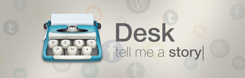 Blogging-Software Desk