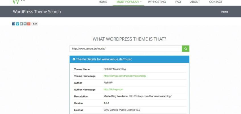 Welches WordPress Theme ist das?