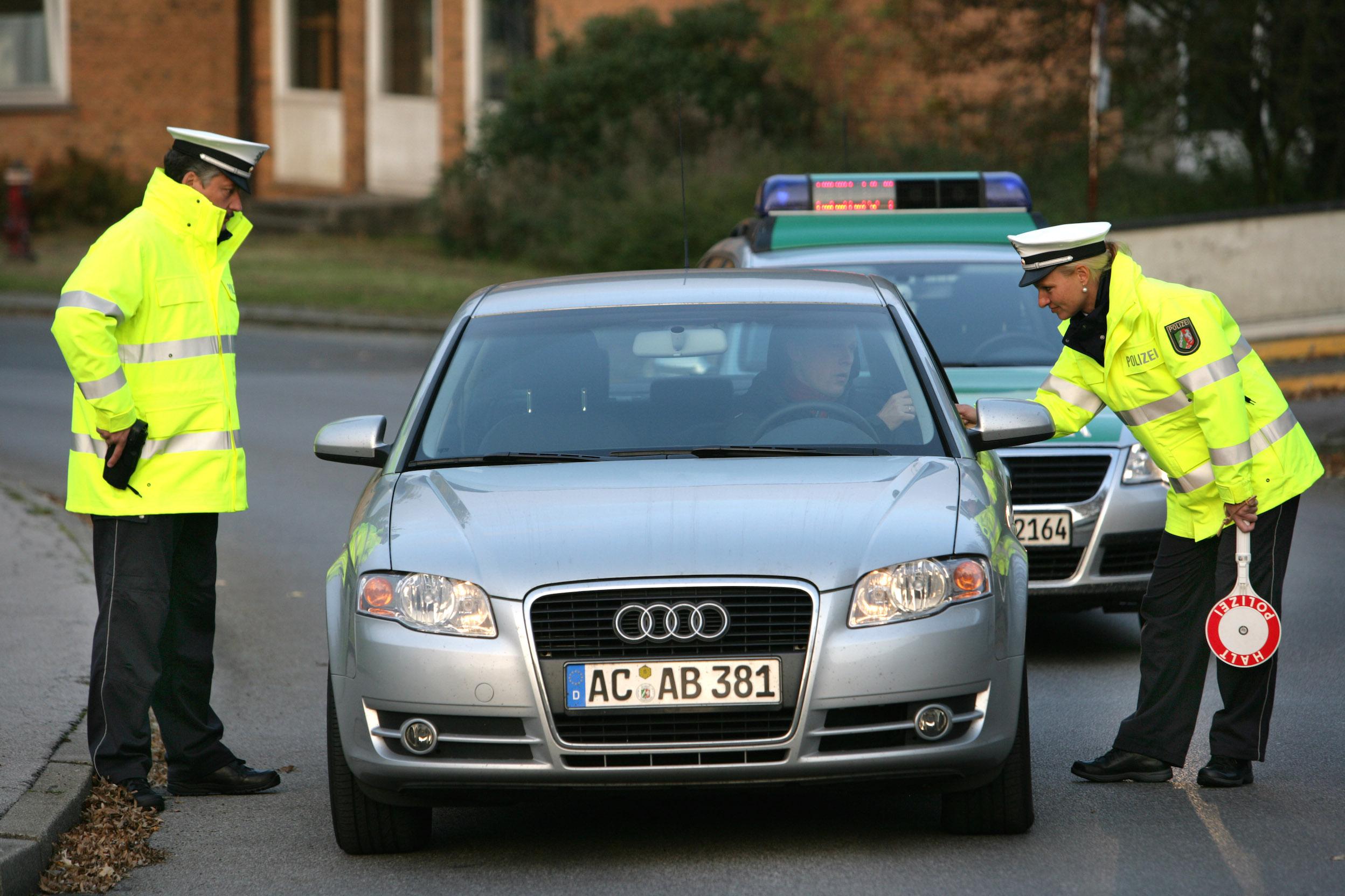 Polizisten-Humor