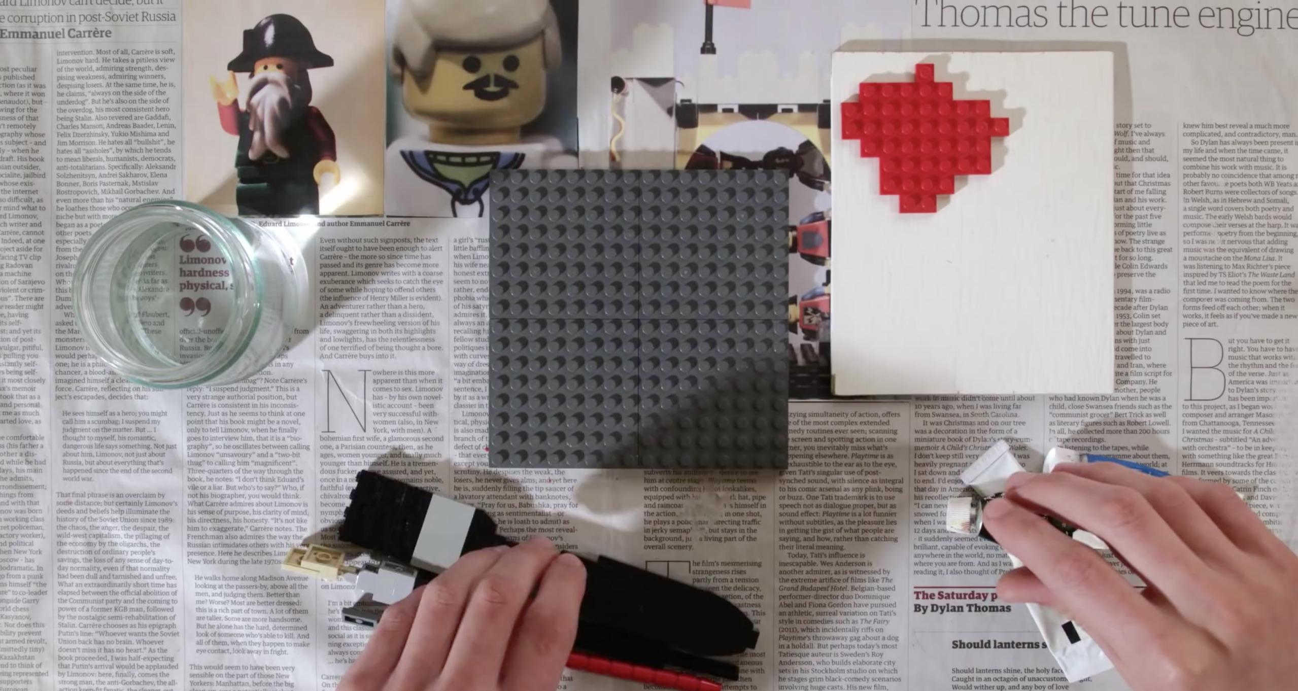Mit Lego malen