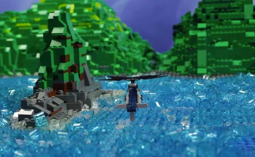 Jurrasic Park aus Lego