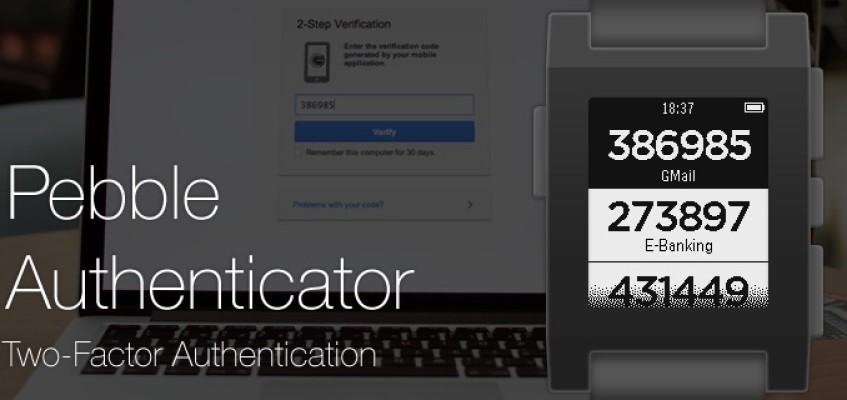 Pebble Authenticator