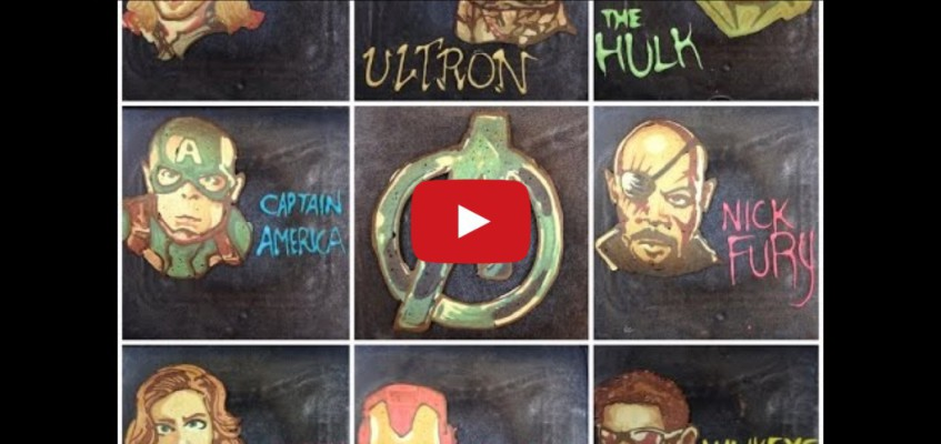Die Avengers zum Frühstück und Dr. Who gleich hinterher