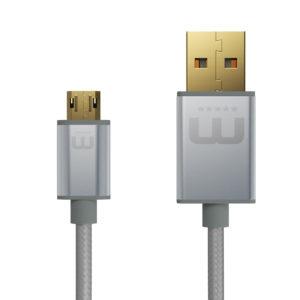 MicFlip - doppelt drehbares Micro USB Kabel