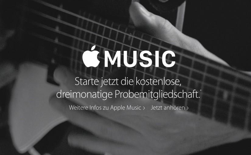 Apple Music nervt!