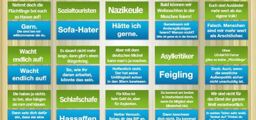 "Das extra3 ""Besorgte Bürger"" Bullshit-Bingo 2.0"