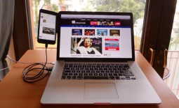 Nettes Gadget: Side-Mount Clip für iPhone/iPad