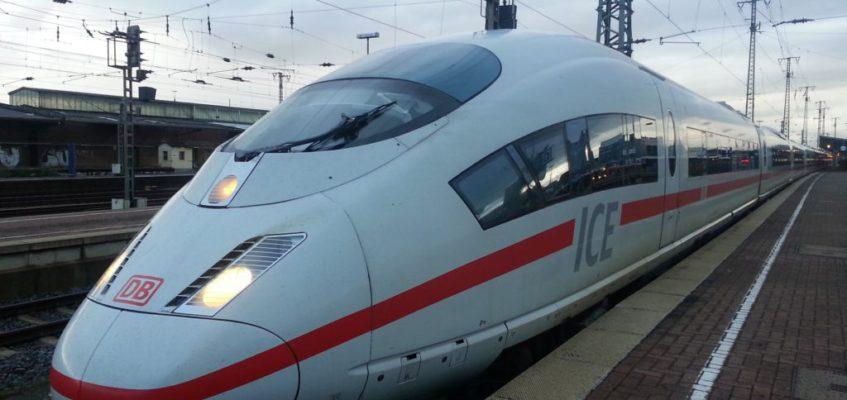 Spaß in der Bahn