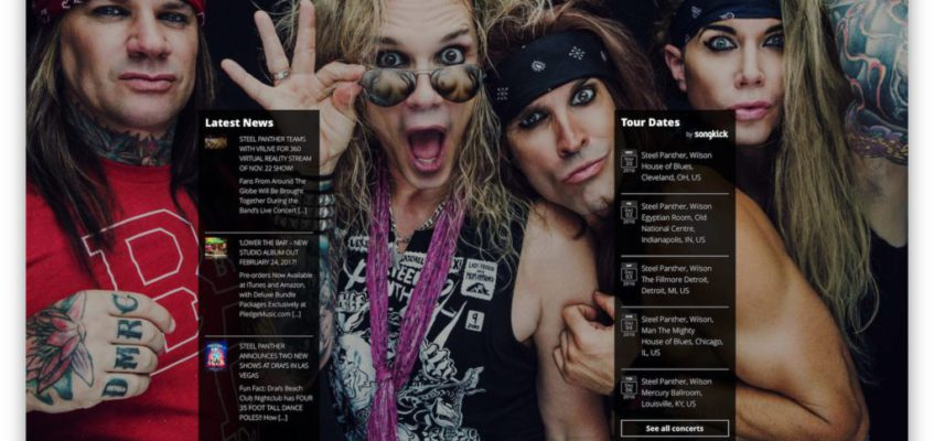 Steel Panther und Fanthers Worldwide