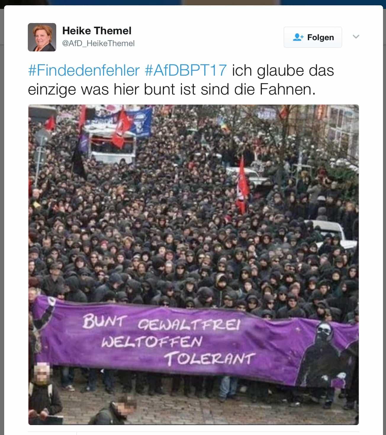 Finden nicht mehr zusammen: AfD und Wahrheit